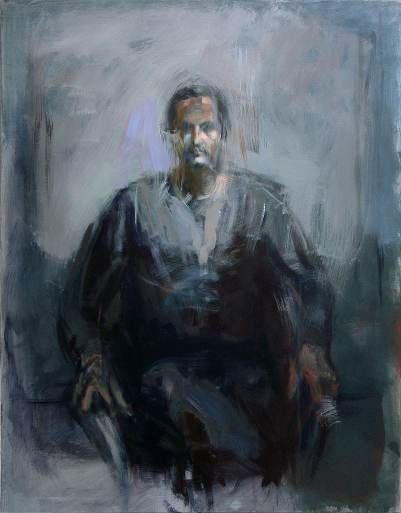 Ansgar2009, Acryl/Lwd, 135x105cm
