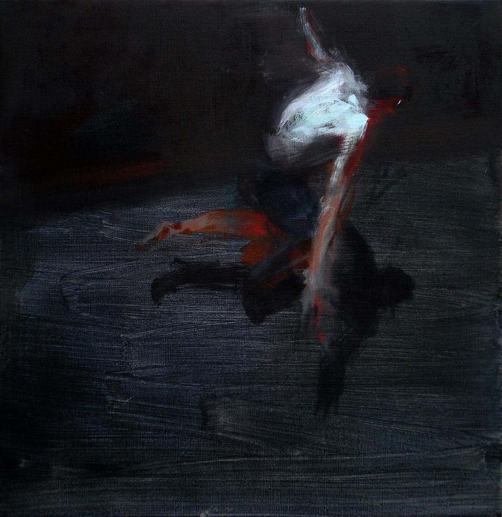 Danza V2   2012, Acryl/ Lwd, 75x77cm