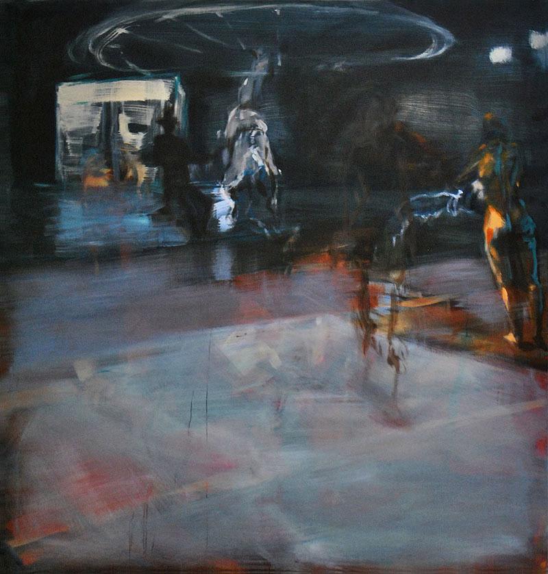 Der Grund2012, Acryl/Lwd, 200x190cm