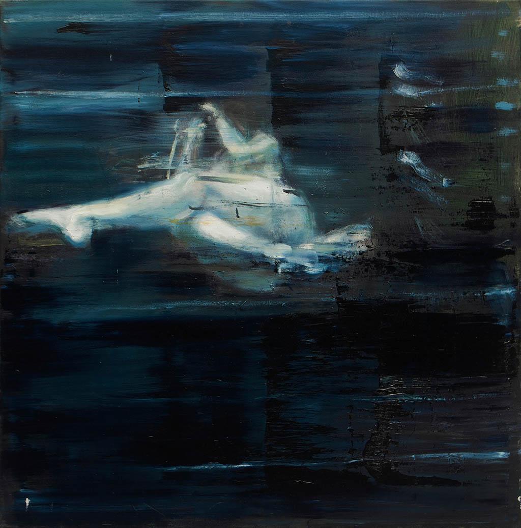 Drift 01 2015, Acryl/Lwd, 75 x 77 cm