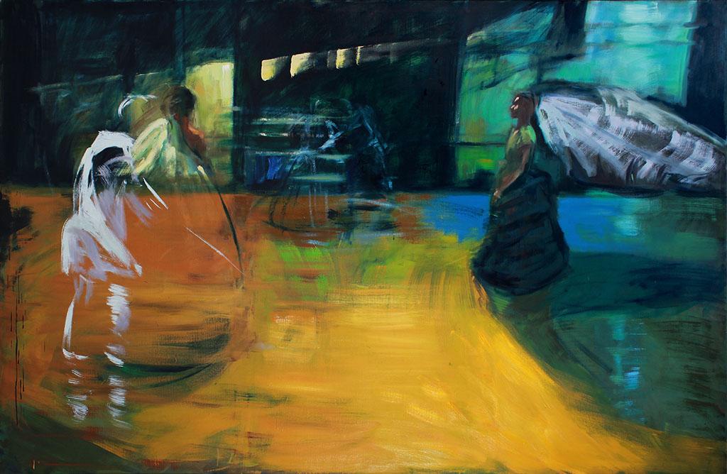 Fleetwood 2018, Acryl/Lwd, 150 x230 cm