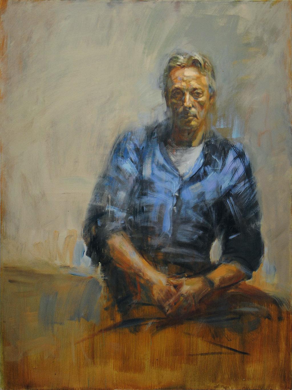 Georg Heinzen   2016, Öl/ Lwd, 160x120cm
