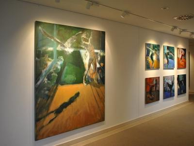 Der Vogel   2011, Acryl/Lwd, 200x160cm