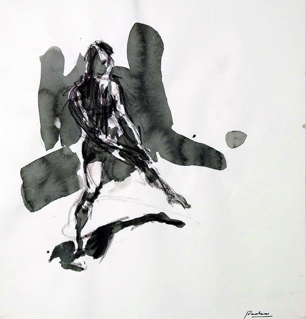 O.T._03   2009, Acryl/Kreide/Papier, 24x23cm